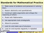 standards for mathematical practice1