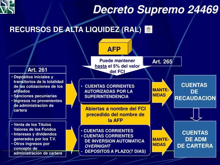 Decreto Supremo 24469