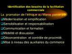 identification des besoins de la facilitation commerciale10