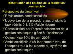 identification des besoins de la facilitation commerciale15