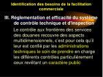 identification des besoins de la facilitation commerciale26