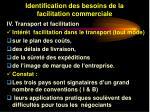 identification des besoins de la facilitation commerciale29