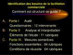 identification des besoins de la facilitation commerciale3