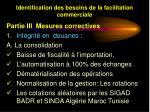 identification des besoins de la facilitation commerciale40