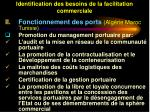 identification des besoins de la facilitation commerciale43