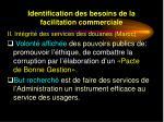 identification des besoins de la facilitation commerciale8