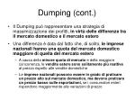 dumping cont