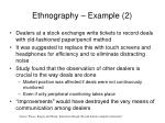 ethnography example 2