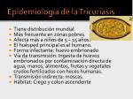 epidemiolog a de la tricuriasis