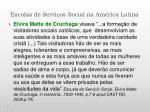escolas de servi os social na am rica latina2