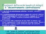 i contenuti dell accordo quadro di sintesi