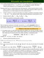 wilcoxon v test dvouv b rov