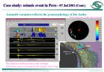 case study seismic event in peru 07 jul 2001 cont