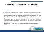 certificadoras internacionales1