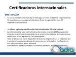 certificadoras internacionales2