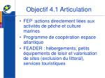 objectif 4 1 articulation