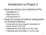 introduction to project 4