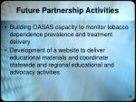 future partnership activities1