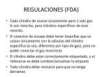 regulaciones fda