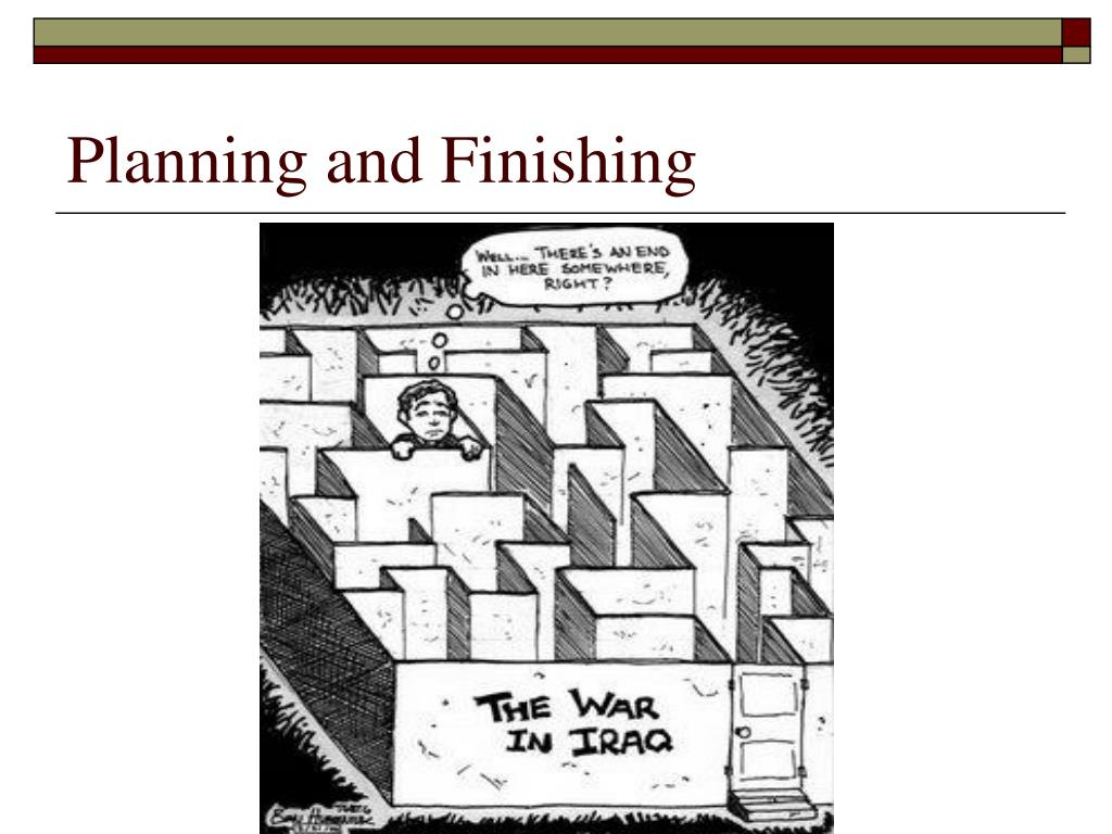 Planning and Finishing