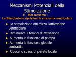 meccanismi potenziali della stimolazione1