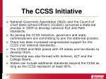 the ccss initiative