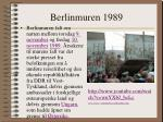 berlinmuren 1989