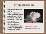hydrogenbomben