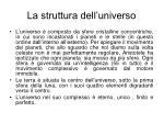 la struttura dell universo