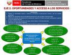 eje 2 oportunidades y acceso a los servicios