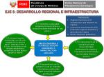 eje 5 desarrollo regional e infraestructura