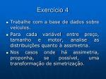 exerc cio 4