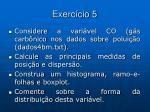 exerc cio 5