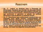 resolvem