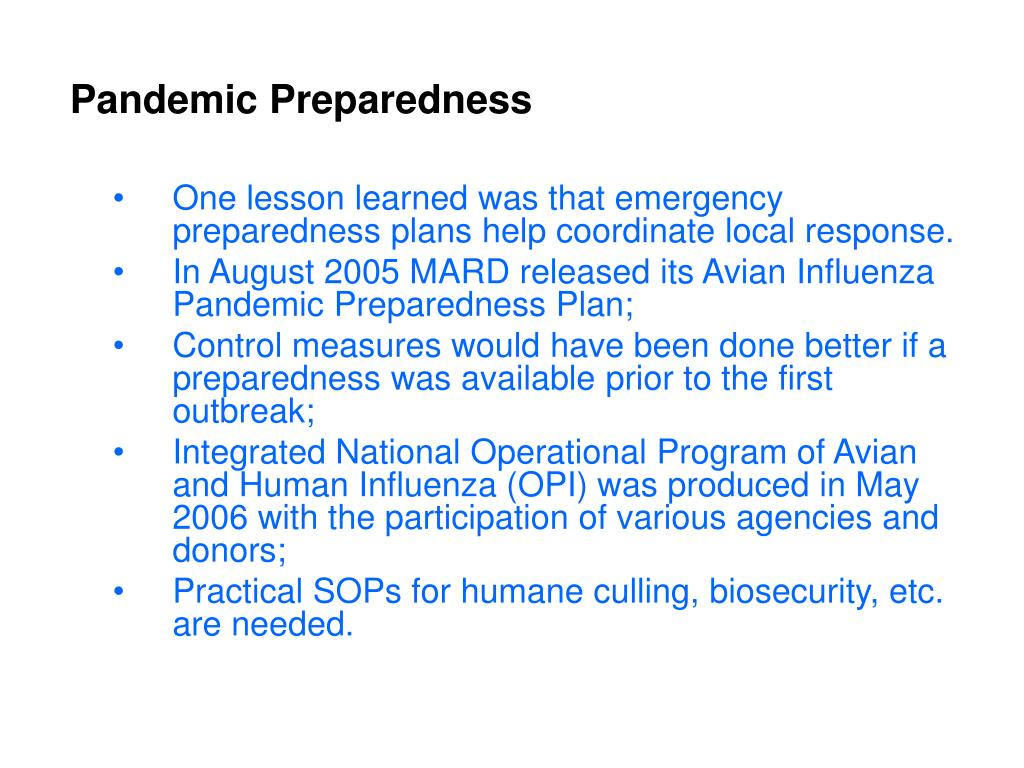 avian influenza and its expected ramifications essay