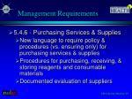 management requirements1