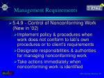management requirements2