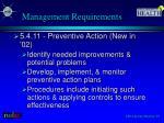 management requirements4
