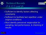 technical records 5 4 12 2 cont d