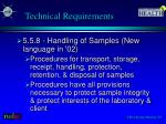 technical requirements2