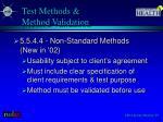 test methods method validation2