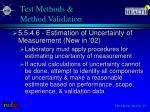 test methods method validation4