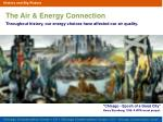 the air energy connection