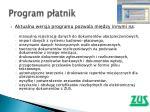 program p atnik