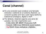 canal channel