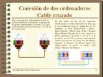 conexi n de dos ordenadores cable cruzado
