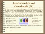 instalaci n de la red conexionado iv