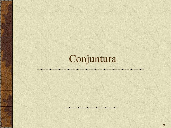 Conjuntura