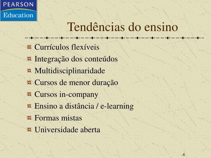 Tendências do ensino