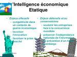 l intelligence conomique etatique